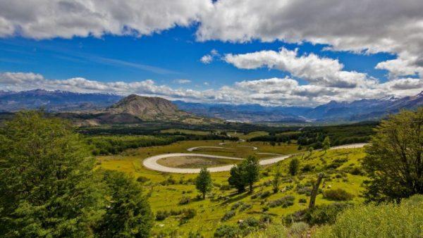 Foto paisaje Carretera Austral, Región de Aysén